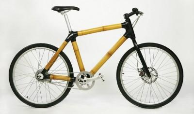 Bicicleta bambú