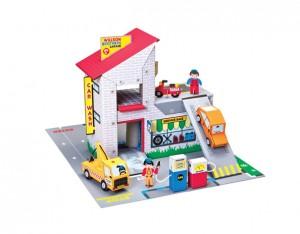 Garage cartón